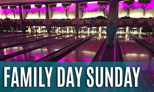 Family Day Sunday Bowling